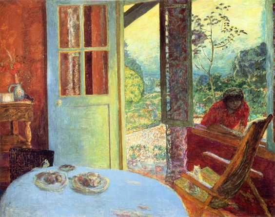 The Dining Room in the Country by @pierre_bonnard #intimism
