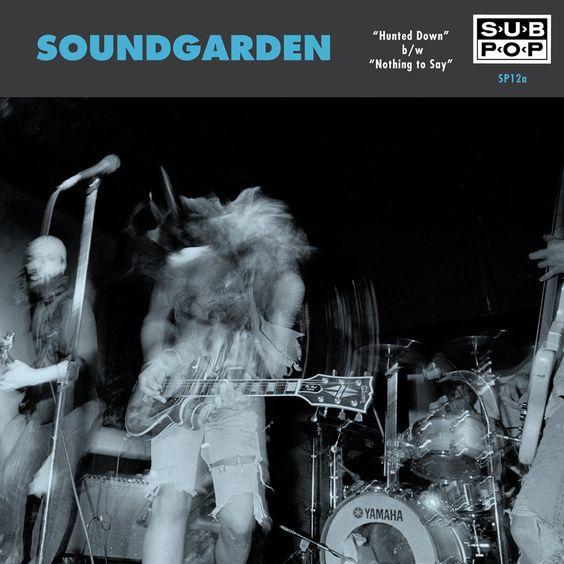 Soundgarden – Hunted Down (single cover art)