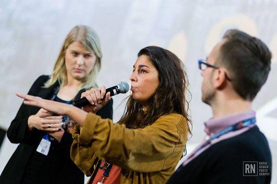 Alba González de Molina presenta 'Julie' en el Warsaw Film Festival (Varsovia, Polonia). #Digital104FilmDistribution Foto: Rafal Nowak - FOTOgrafia / PHOTOgraphy.