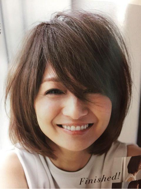 Storyモデル 富岡佳子さんの様なショートヘアにしようか 妄想中