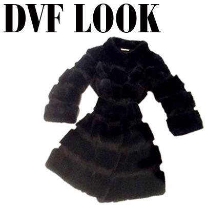 DVF LOOK.  Abrigo Diane Von Furstenberg