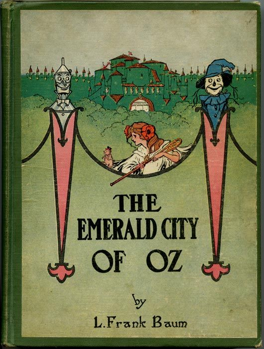 ''The Emerald City of Oz'', ill. John R. Neill, 1910: