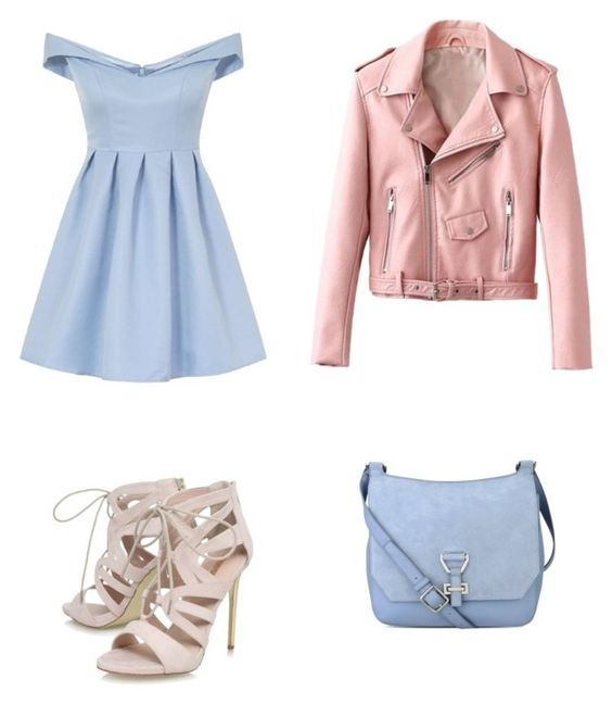 """""""Sweet style"""" by ivonnediaz on Polyvore featuring moda, Chi Chi, Carvela y Nine West"""