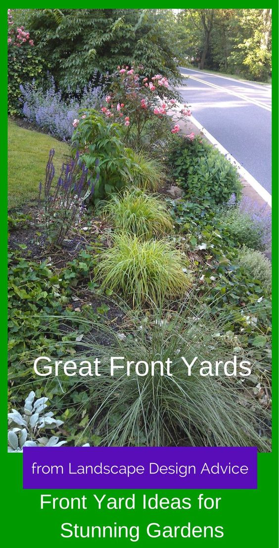 Creative front yard landscaping ideas beautiful for Creative front yard ideas