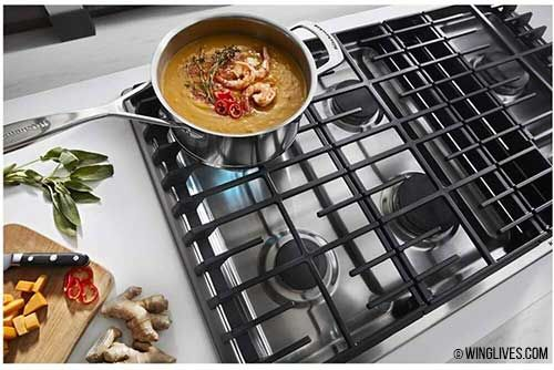 Induction Cooktop With Downdraft Vent Downdraft Cooktop Gas Cooktop Cooktop