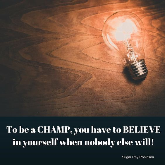 """#Monday #motivation! """"To be a CHAMP you have to BELIEVE in yourself when nobody else will!"""" by Sugar Ray Robinson. . . . #medhya #medhyaherbals #medhya_ingredients #ayurveda #detox #natural #herbal #herbs #healthyfoods #naturopathy #inspiration #quotes #health #lifestyle #getmoving #goals #success #nutrition #healthy #vitamins #minerals #instahealth"""