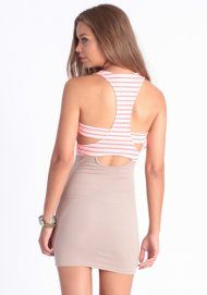 Holiday in the Sun Striped Dress