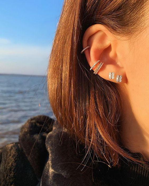 triple piercings