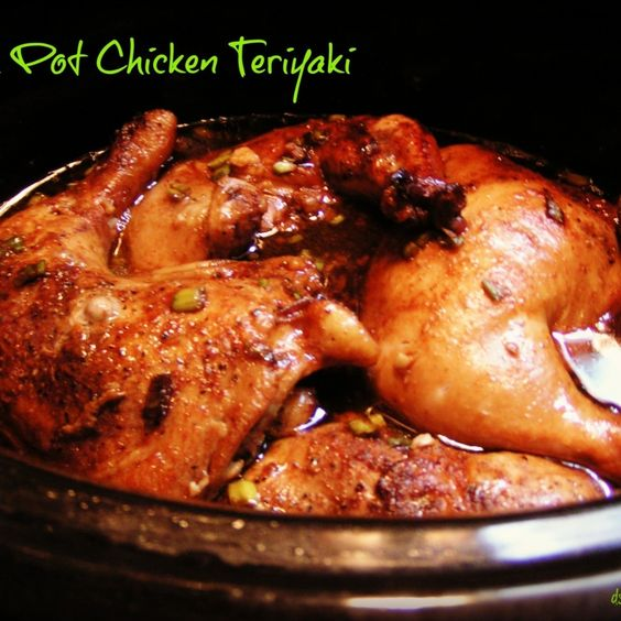 Slow cooker recipes chicken thighs teriyaki