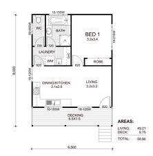 1 Bedroom House Plans Australia