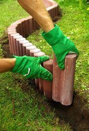 Mähkante – 10 Tipps zum Setzen & Verlegen der Rasenborde | Heimwerkertipps.net