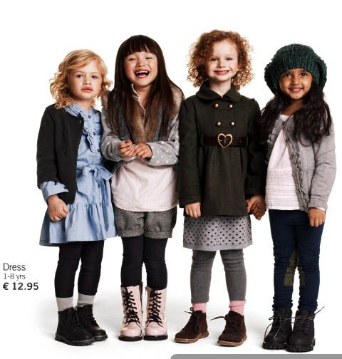 H&M kids... some of the most fashionable baby/kids clothes I've seen. And, the prices are so affordable!