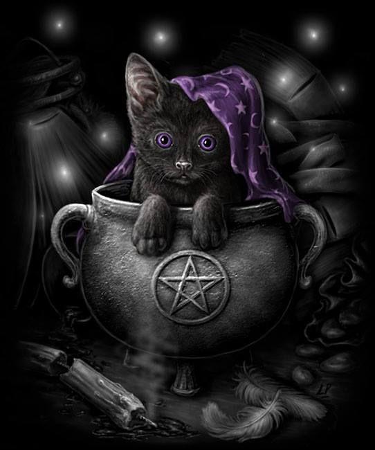 Cute. #Wicca #pagan #art