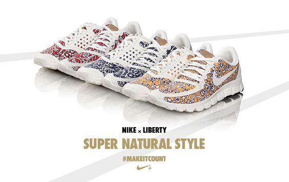 We've got Nike fever!    The Liberty x Nike collection is now available at Liberty.co.uk
