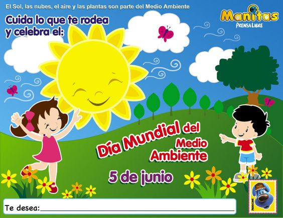 Revista Infantil De Prensa Libre Juegos Y Actividades Para Ni Os Preescolares Dia Mundial Del Medio Ambiente Medio Ambiente Ninos De Preescolar