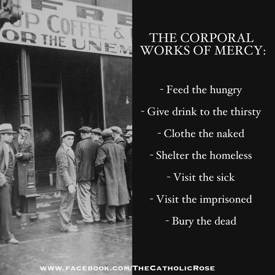 ~ Corporal Works Of Mercy...