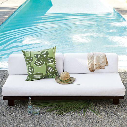 tillary outdoor sofa west elm wicker wood and outdoor living pinterest products sofas. Black Bedroom Furniture Sets. Home Design Ideas
