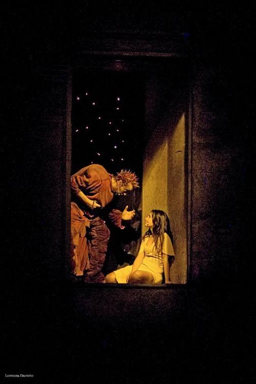 Notre Dame de Paris: italian Quasimodo and Esmeralda