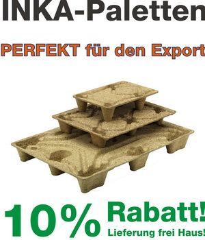 10% Rabatt auf Inka-Paletten und versandkostenfreie Lieferung