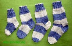 BabysockenWie viele Maschen für welche Schuhgröße? Tabelle für das Stricken von Babysocken