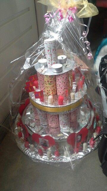 Wc rollen taart origineel cadeau pinterest - Origineel toilet idee ...