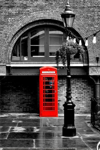 Telephone booths will never get old.