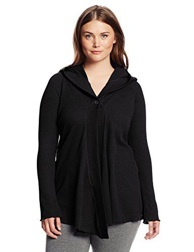 Fashion Bug Performance Womens Plus Size Hooded One Button Thermal ...