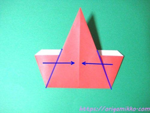 折り紙 サンタ かわいい 簡単