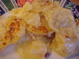 Gratin crémeux aux pommes de terre, emmenthal et parmesan