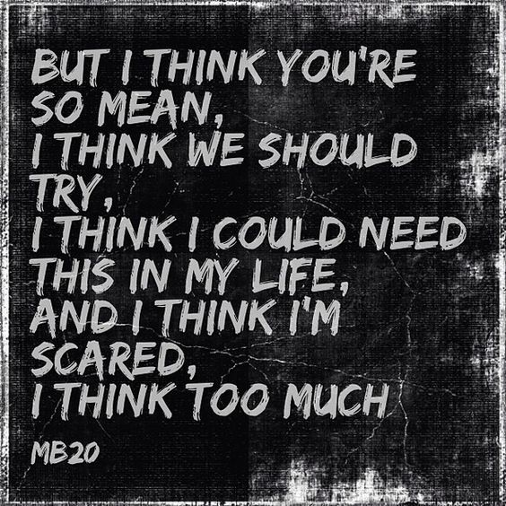 For got how much I love this song. It has been on repeat the last 2 days. Matchbox 20- If You're Gone