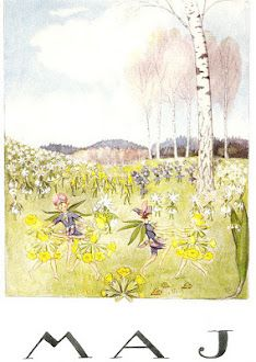 May by Elsa Beskow:
