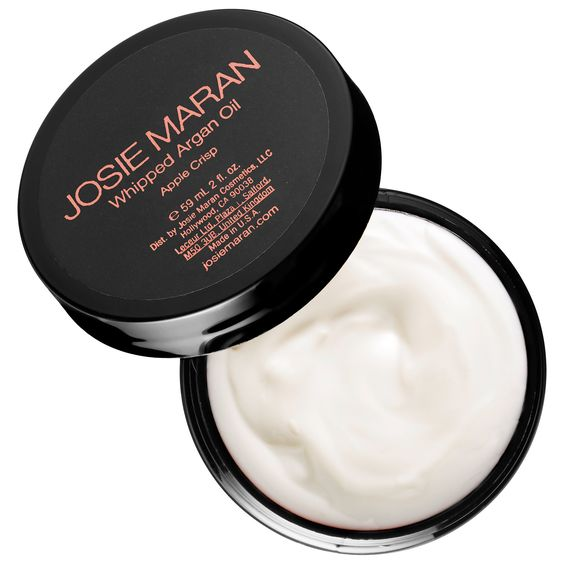velvety, hydtrating whipped argan oil body butter