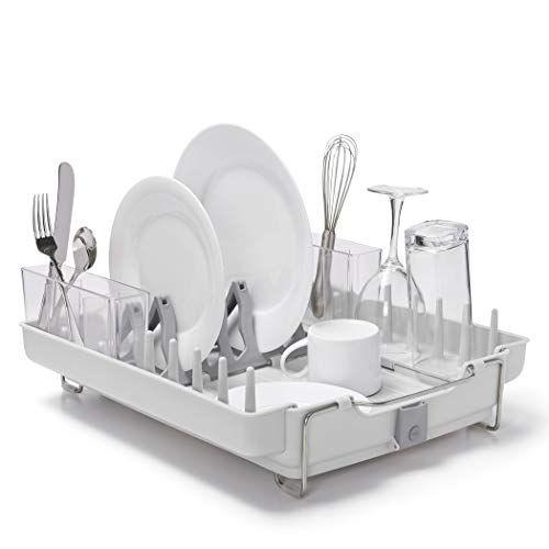Oxo Good Grips Convertible Foldaway Dish Rack Stainless Https