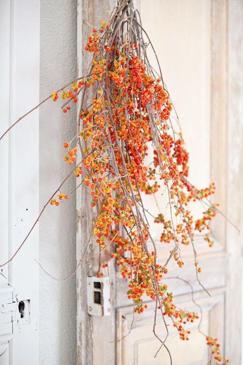 Dreamy Whites: French Farmhouse Fall Decorating......