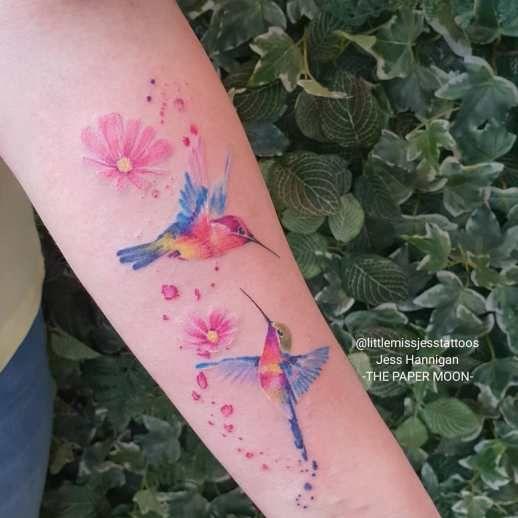 Pin En Aves Tatuajes