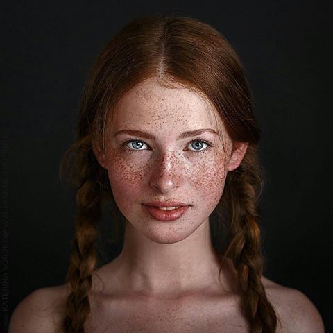 Freckles and pigtails sex hot nude photos