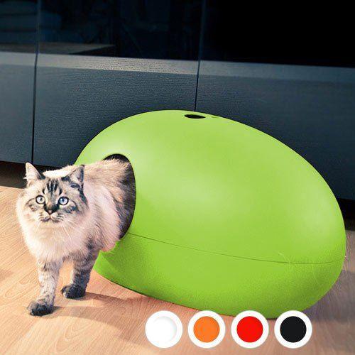 Trop la classe!!! Sélection Design - Maison de toilette Poopoopeedo pour chats