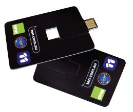 Channel Ten - Credit Card USB's