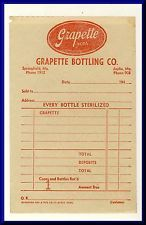 1950's retro vintage invoice design   Vintage, Retro   Pinterest