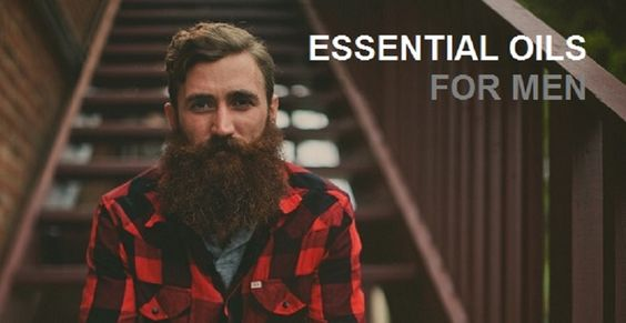 Real men use essential oils