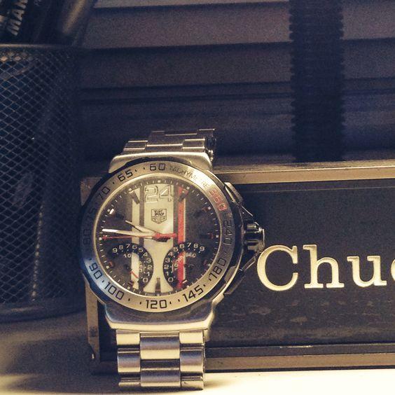 Tag Heuer Formula 1 Calibre S 1/100th Sec Electro-Mechanical Chronograph