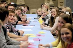 """Speed """"Friending"""" Activity ....Class idea for Stake Youth Conference"""