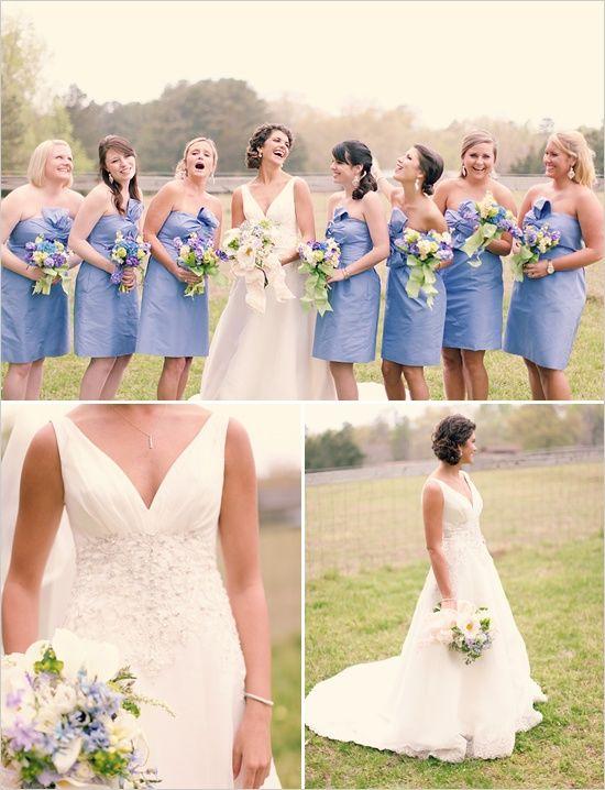 matrimonio pervinca abiti da damigella pervinca
