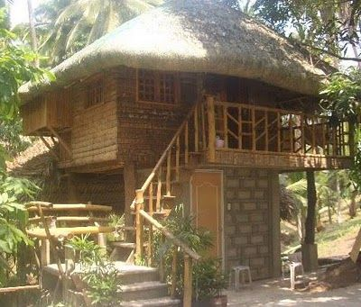 2 storey modern design of nipa hut philippines cebu city for Small hut plans