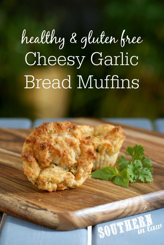 ... garlic, herbs and cheese and also gluten free and egg free, they are