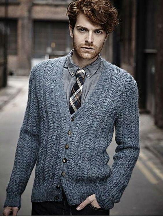 Estilo para homens muito magros - roupas com relevo: