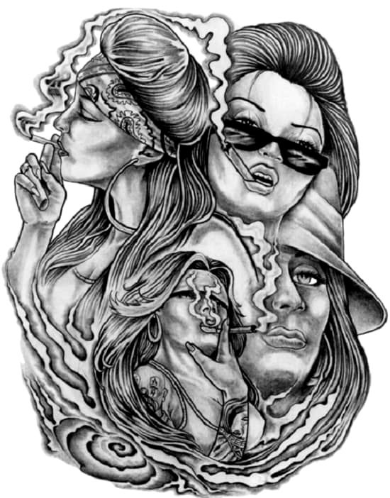 Unique Tattoos Design Ideas In 2020 With Images Chicano Art