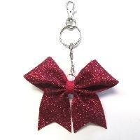 Glitter Fabric Keychain $4.00