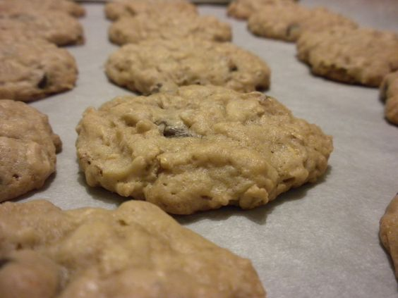 Oatmeal cookies- without butter