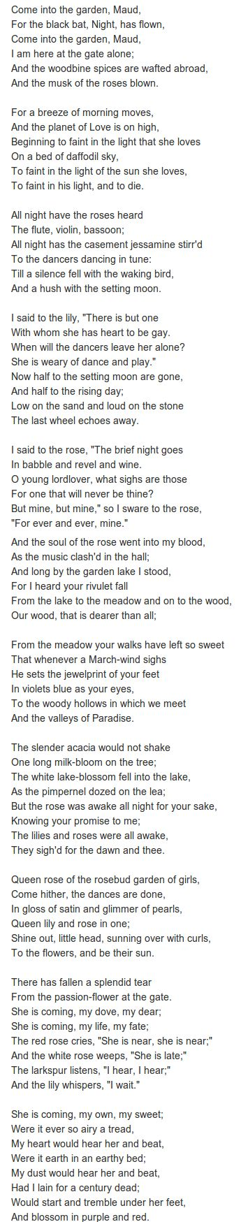 Lord Gardens And Poem On Pinterest